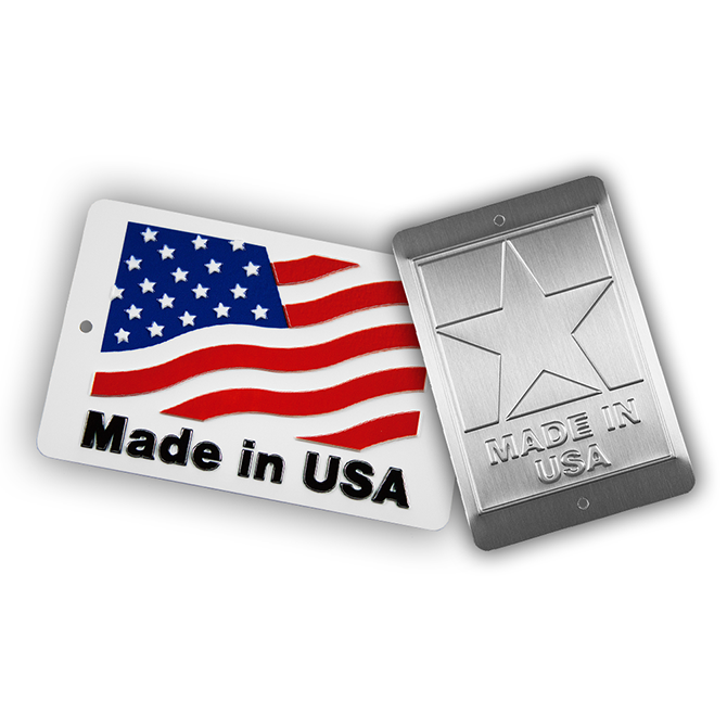 Made in USA Plates